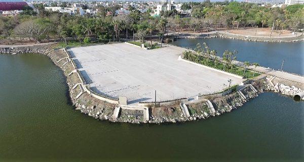 Parque Central de Mazatlán Cómo Va 2021 2
