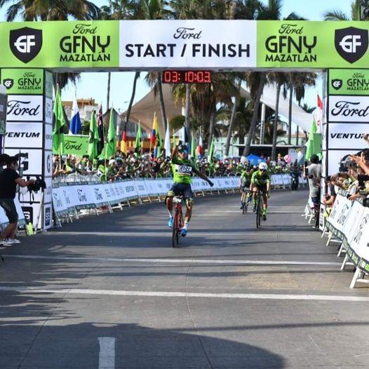 Primera Edición Competencia Ciclista Ford GF New York Mazatlán 2021 1 Ganador