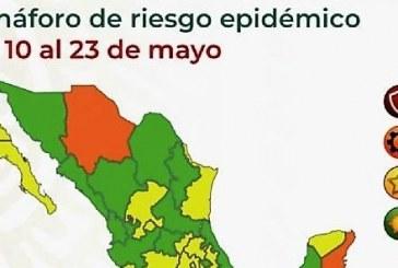 Sinaloa tendrá semáforo epidemiológico Verde del 10 al 23 de mayo
