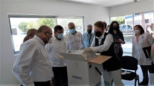 Sinaloa recibe más de 71 mil dosis de vacunas contra Covid de laboratorios Sinovac y Pfizer 2021 2
