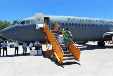 Sinaloa recibe más de 71 mil dosis de vacunas contra Covid de laboratorios Sinovac y Pfizer