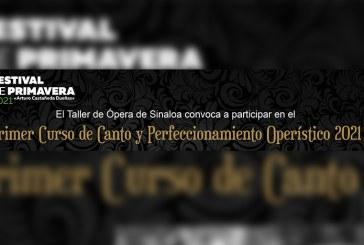 Invita el TAOS al Primer Curso de Canto y Perfeccionamiento Operístico 2021