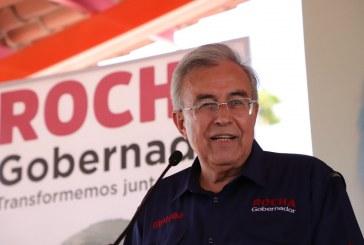 Compromete Rocha Moya trabajar para poner en alto el nombre Sinaloa