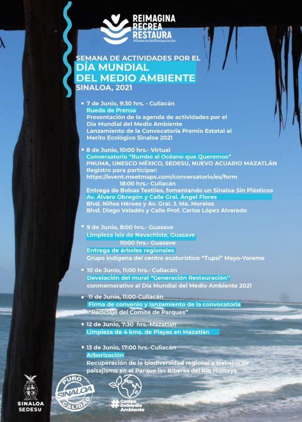 Convocatoria Sedesu Sinaloa Cuidado Medio Ambiente 2021 a