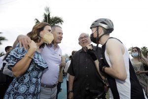 Quirino Ordaz Coppel inaugura la ciclovía Sábalos Cerritos en Mazatlán 2021 1