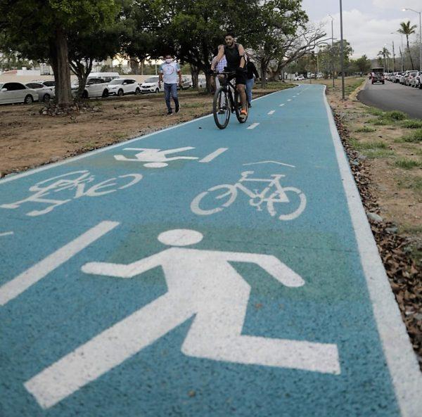 Quirino Ordaz Coppel inaugura la ciclovía Sábalos Cerritos en Mazatlán 2021 3
