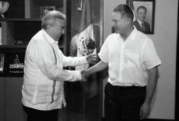 Rocha Moya y Ordaz Coppel coordinan acciones para concretar proyectos y programas con la federación