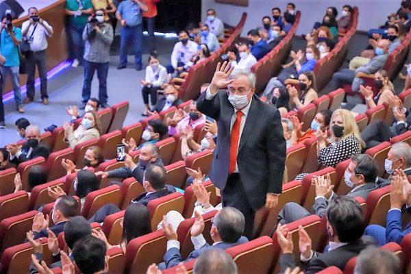 Ruben Rocha Moya Gobernador Electo Sinaloa Toma P´rotesta Rector UAS Jesús Madueño Molina 2021 3