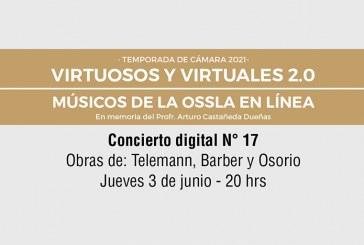 """Ensamble de violas, este jueves 03,  en """"Virtuosos y Virtuales 2.0"""""""