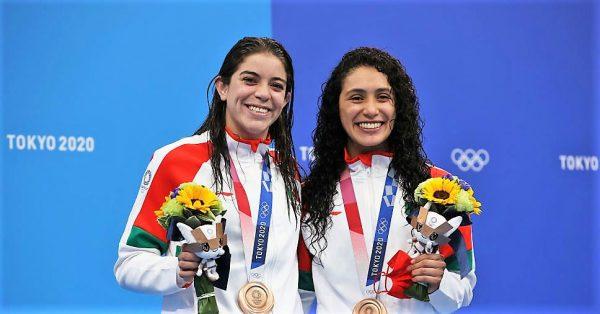 Alejandra Orozco y Gabriela Agundez Medallistas de Bronce en Tokio 2020