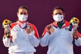 Alejandra Valencia y Luis Álvarez logran el bronce en equipo mixto de los Juegos Olímpicos de Tokio