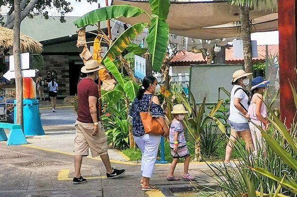 Así los Turistas en Mazatlán Lunes 19 de Julio de 2021