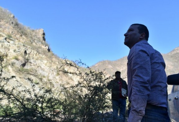 Avanza la carretera San Ignacio-Tayoltita