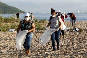 Bien por las Autoridades Realizan campaña Playas Limpias Sinaloa en Isla Venados 2021 2