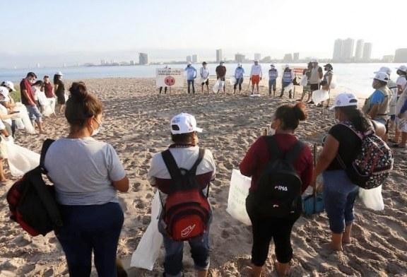 Bien por las Autoridades: Realizan campaña 'Playas Limpias Sinaloa' en Isla Venados