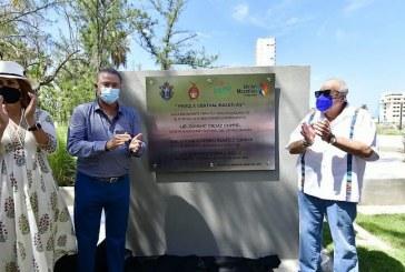 Formalizan entrega-recepción del nuevo Parque Central de Mazatlán