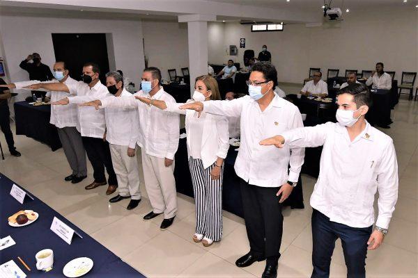 Fecanaco Sinaloa Cambio Mesa Directiva 2021 2022 Miguel Hernández Fonseca 1
