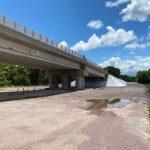Lista la reconstrucción del puente Monte Alto, en Rosario: Quirino