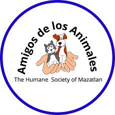 Logo Amigos de lso Animales Mazatlán 2021