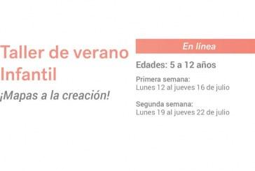 """Del 12 al 22 de julio, la realización en línea del Taller de Verano Infantil MASIN: """"¡Mapas a la creación!"""""""