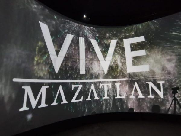 Mazatlán será Promovido a Nivel Nacional Mediante un Domo de 360 Grados 2