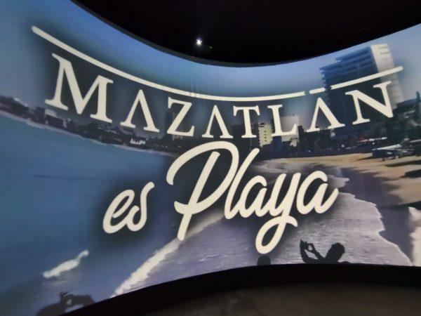 Mazatlán será Promovido a Nivel Nacional Mediante un Domo de 360 Grados 3