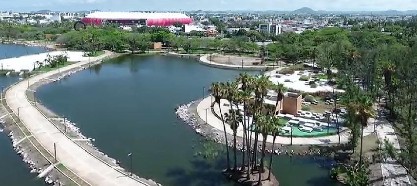 Parque Central de Mazatlán proyecto que avanza pero no en todas sus áreas 2021