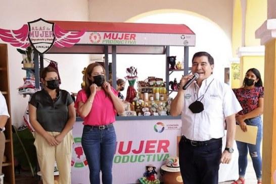 Ponen en marcha carreta para la venta de productos regionales en Cosalá