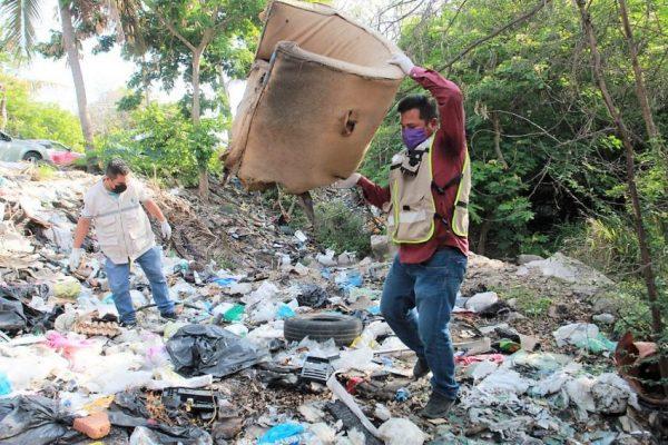 Realizan IMJU y Ecología Municipal campaña Basura Challenge en El Infiernillo Mazatlán 2021 1