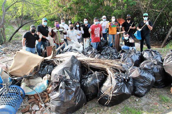 Realizan IMJU y Ecología Municipal campaña Basura Challenge en El Infiernillo Mazatlán 2021 2