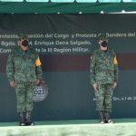 Rinde protesta nuevo comandante dela III Región Militar