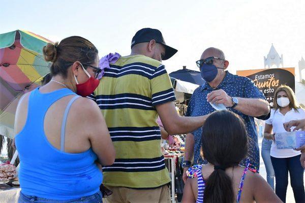 Se suma Alcalde de Mazatlán a operativo Covid en zona turística Julio 2021 3