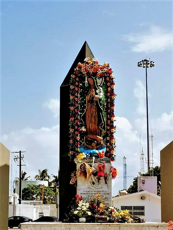 Virgen de la Puntilla Mazatlán