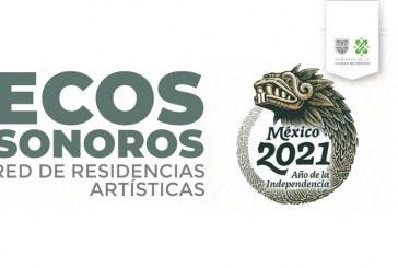 Convocatoria ECOS SONOROS. Red de residencias artísticas