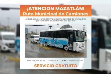 Camiones al servicio de la ciudadanía completamente gratis