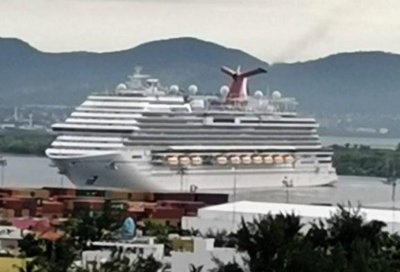 El Crucero Carnival Panorama pone fin a la Veda de Cruceros en Mazatlán