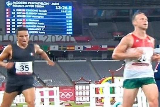 Cierran pentatletas Carrillo y Sandoval su participación en Juegos Olímpicos Tokio 2020