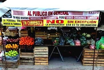 Coepriss realiza supervisión sanitaria en los tianguis de Sinaloa