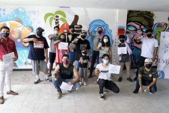 Culmina IMJU Primer Curso de Grafiti 2021