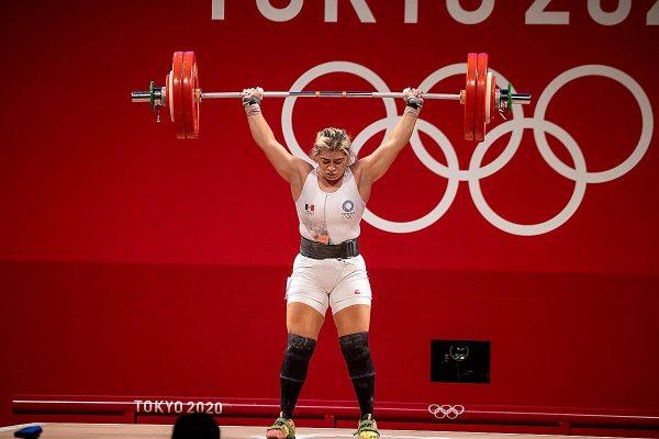 Entrega pesista Aremi Fuentes tercera medalla para México en Tokio 2020 1