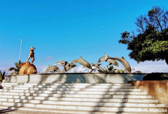 Escultura a la Continuidad de la Vida en Mazatlán 2021