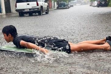 Así Huracán Nora a su paso por Mazatlán