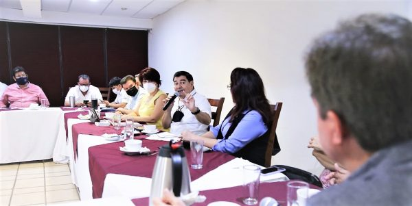 Javier Lizárraga Mercado SEDECO Reunión EVyM Guamúchil Agosto 2021 2