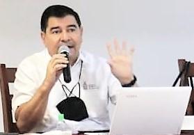 Javier Lizárraga Mercado SEDECO Reunión EVyM Guamúchil Agosto 2021