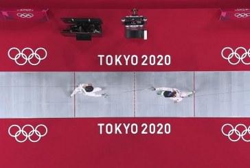 Pentatletas nacionales inician actividad de Juegos Olímpicos con esgrima