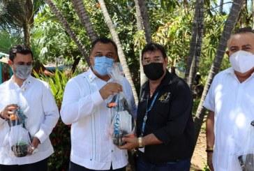 Recibe Acuario Mazatlán comitiva de líderes empresariales