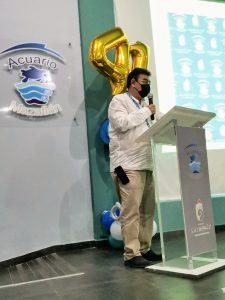 41 Aniversario Acuario Mazatlán Evento Conmemoración 2021 Biol. Pablo Rojas Zepeda