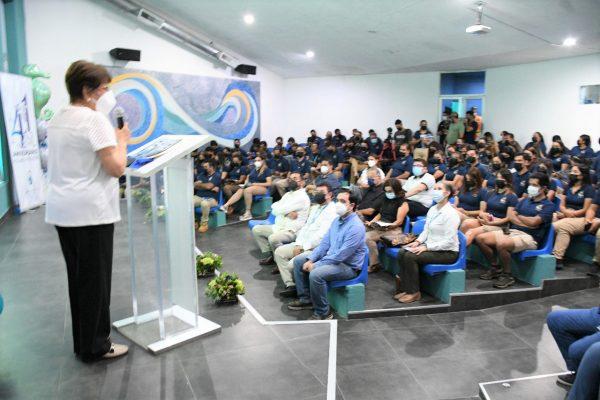 41 Aniversario Acuario Mazatlán Evento Conmemoración 2021 Regidora Chicuate
