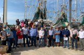 Supervisan autoridades federales la operación de los Dispositivos Excluidores de Tortugas marinas en Tampico, Tamaulipas