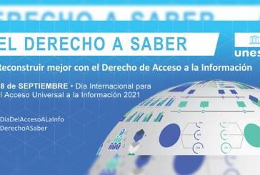 Día Internacional del Acceso Universal a la Información 28 de septiembre